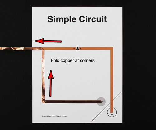 paper circuits for makerspaces makerspaces compaper circuit steps makerspace project