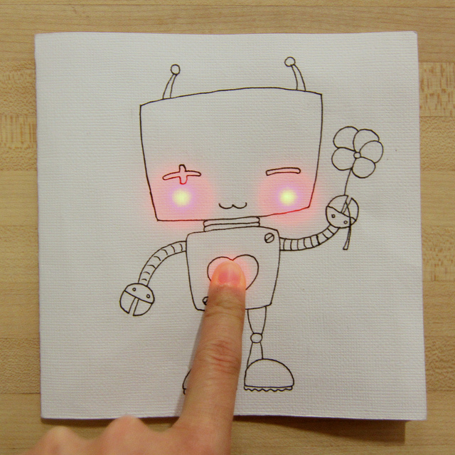 playmaker templates - paper circuits for makerspaces