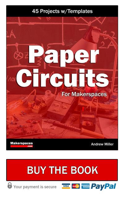 paper circuits book button