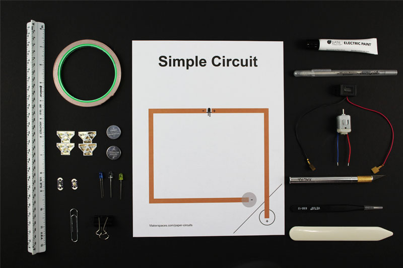 paper circuits for makerspaces