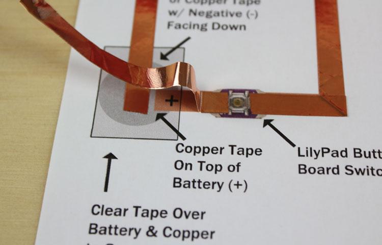 copper tape paper circuits