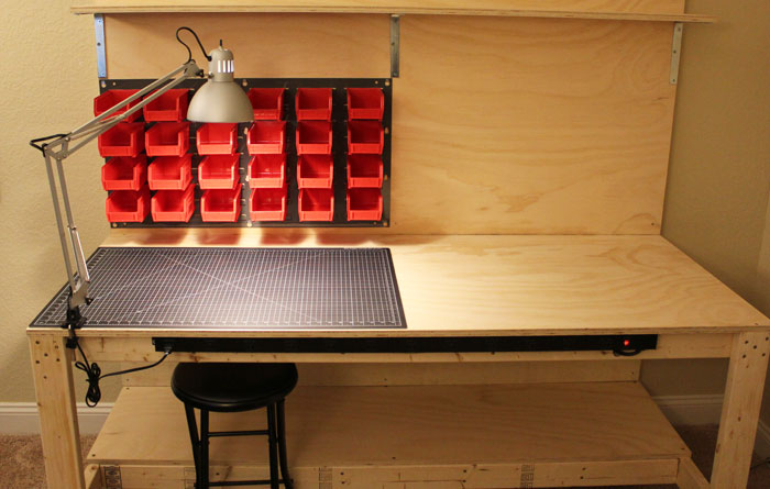 Build A Makerspace Workbench For Under 100 W Step By Step Plans