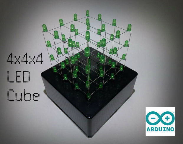 arduino uno LED cube