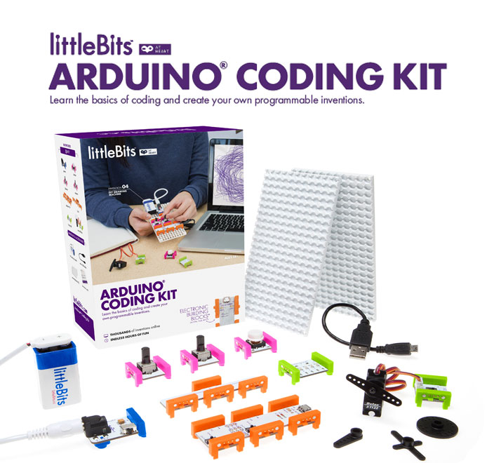 Win a littlebits arduino coding kit for your makerspace