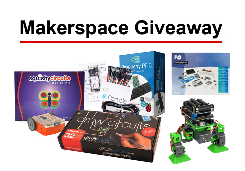 makerspace giveaway