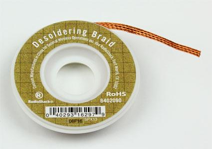 desoldering braid soldering wick