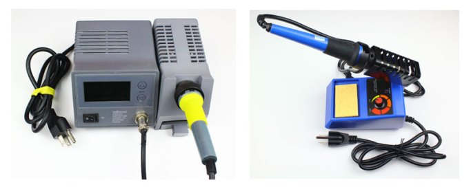 how to solder soldering iron station