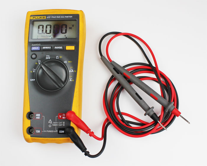 multimeter basic electronics
