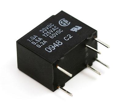 relé electrónico de electrónica básica