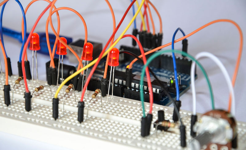 15 Arduino Uno Breadboard Projects