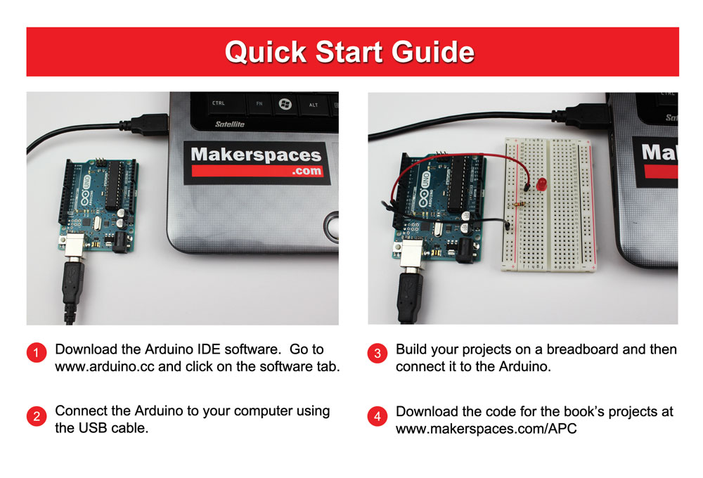 Arduino For Beginners Book - Learn The Basics & Get Started FAST!