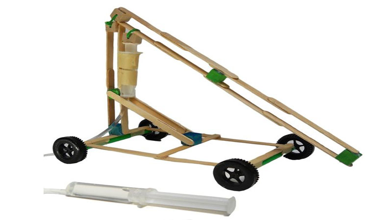 hydraulic machine stem makerspace projects