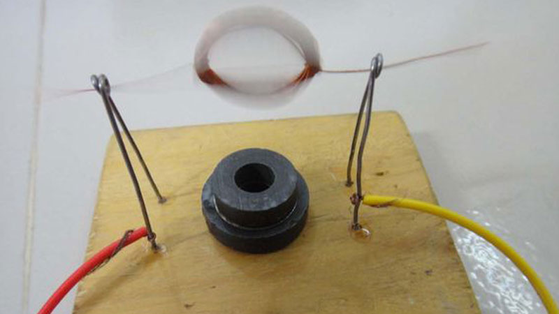make a simple dc motor