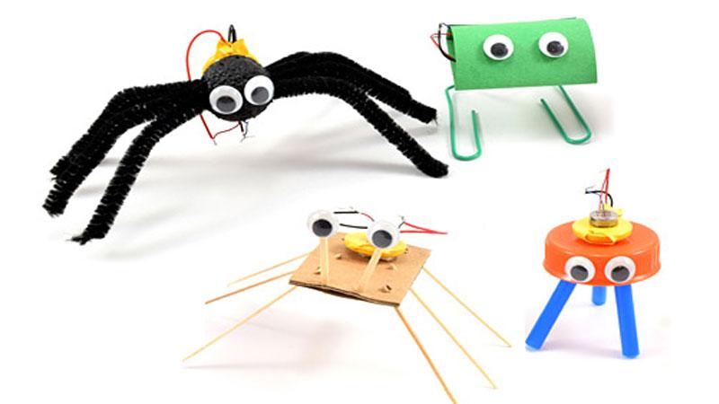 vibrobots stem makerspace projects