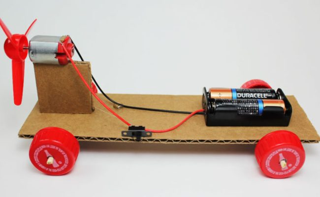 Make A Simple Electric Propeller Car Steam Science Project
