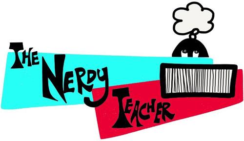 nerdy teacher logo