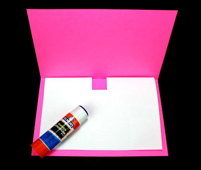 mothers day makerspace pop up card glue