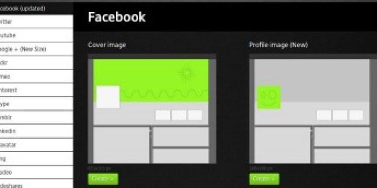 So erstellen Sie ganz einfach Profilbilder für verschiedene soziale Netzwerke