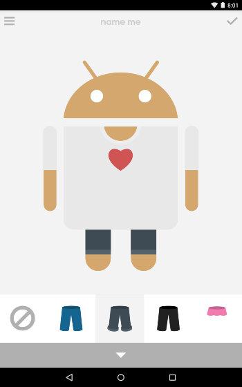 Android Create Avatar - Androidify