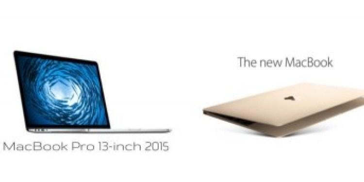 12-Zoll-Macbook im Vergleich zu 13-Zoll-MacBook Pro (2015): Welches sollten Sie wählen?