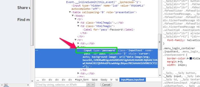 Reveal-Password-line