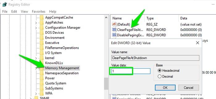 windows-10-registry-hacks-delete-pagefile-at-shutdown
