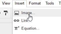 Google-Docs-Signatur-Bild einfügen