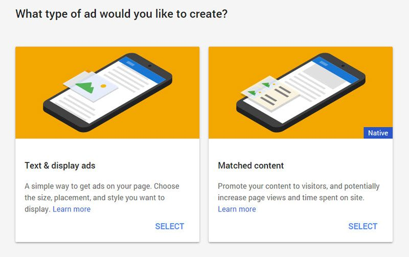 adsense-matched-content-select
