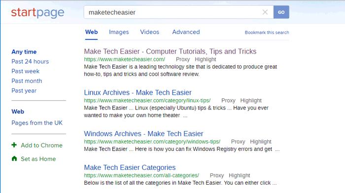 beste Suchmaschine für Datenschutz Startseite-x