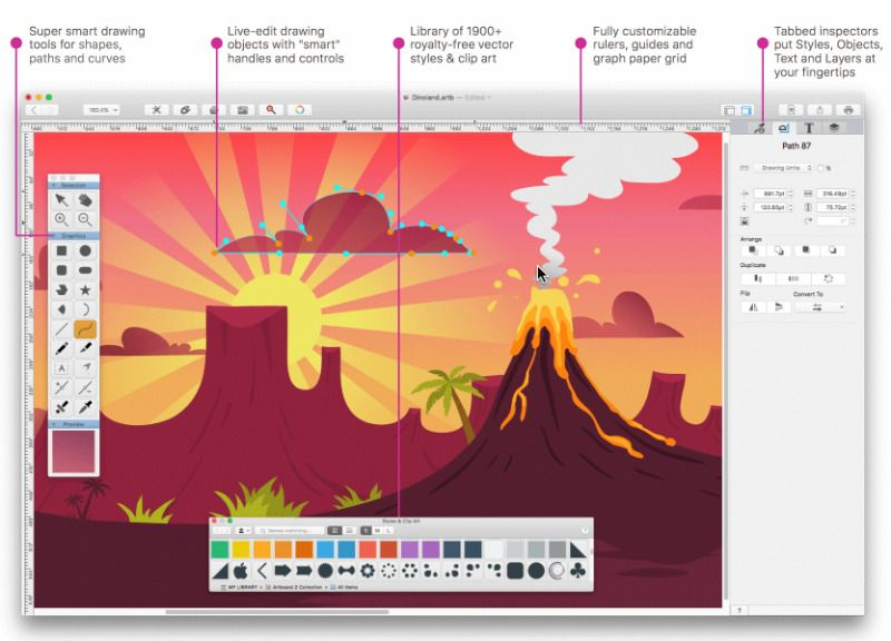 free vector drawing software