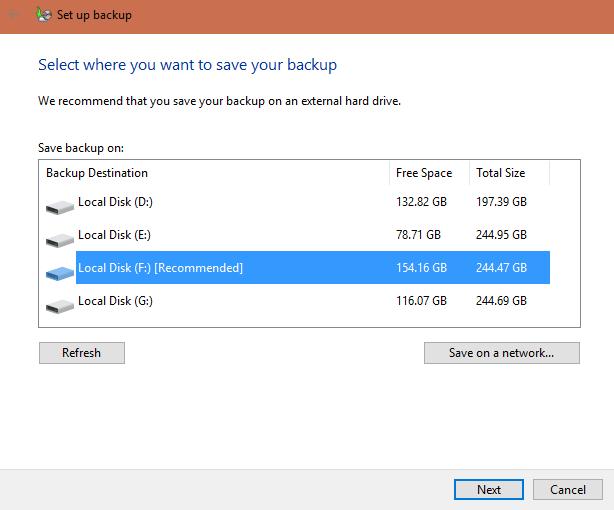 Windows-Backup-und-Wiederherstellung neu installieren