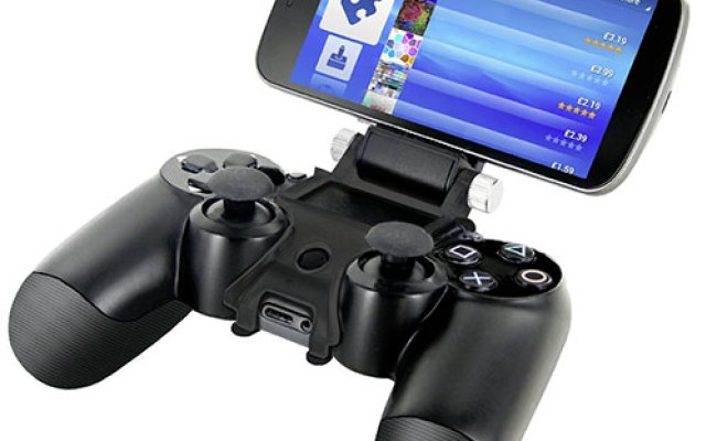 How To Connect A Ps4 Controller To Your Android Device