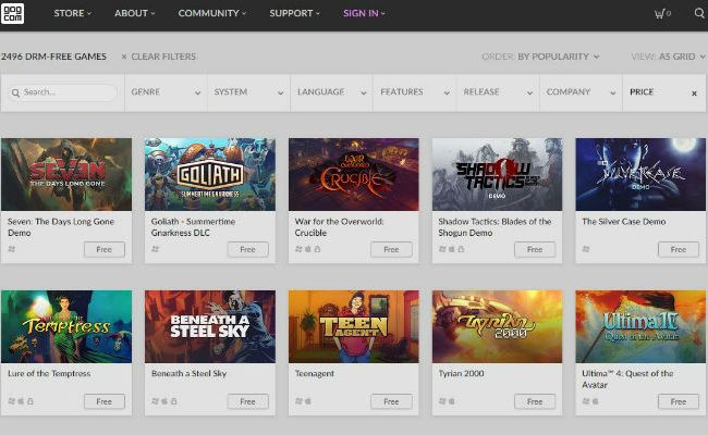 5 Of The Best Websites To Download Free Video Games Make