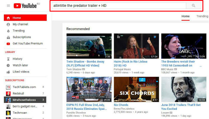 youtube-search