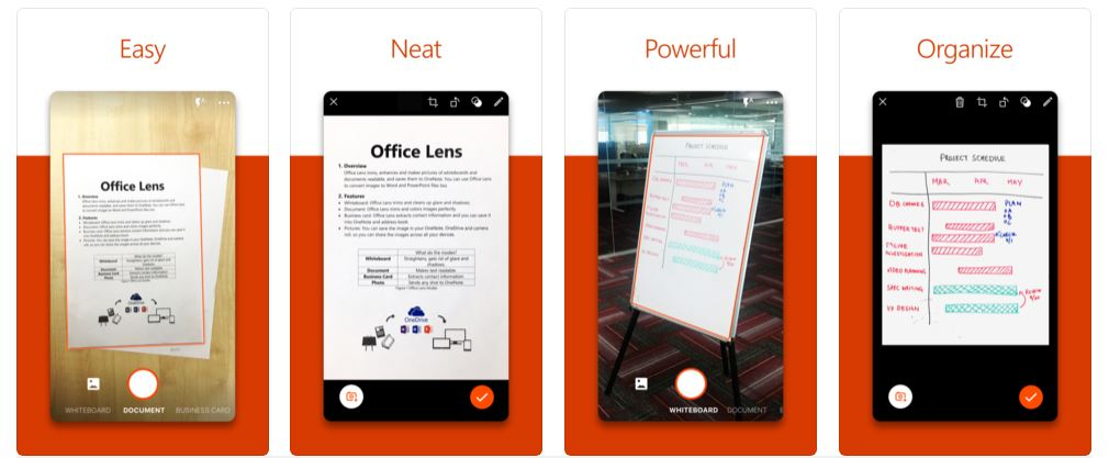 Microsoft Office-Objektiv.