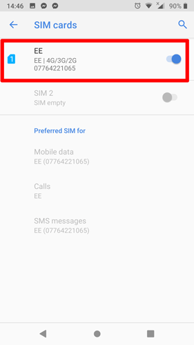 *the sim card only works in korea. How To Fix No Sim Card Detected Error On Android Make Tech Easier