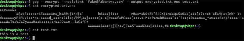 Gpg Linux File Encrypt Output