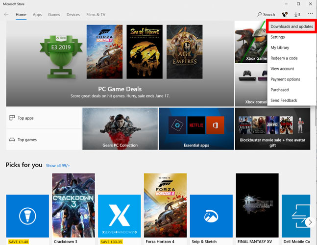 Fotos App funktioniert nicht Windows 10 Microsoft Store 1