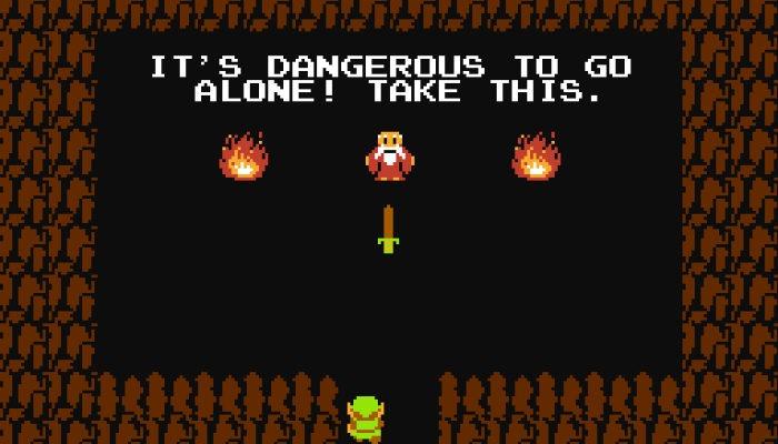 Die Legende von Zelda Nes