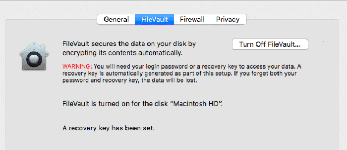 Fix Macos Broken Update Deaktivieren Sie Filevault