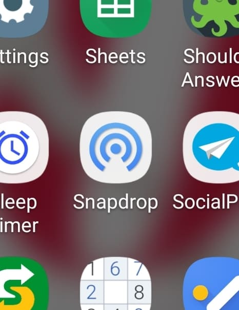 Airdrop Android Pc Snapdrop Icon Android