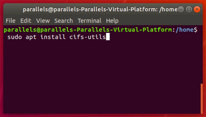 Linux Cifs Utils installieren