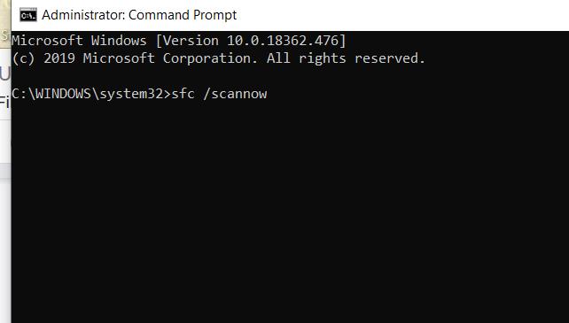 Windows-Eingabeaufforderungsbildschirm, der nicht reagiert