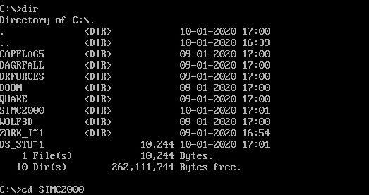 Dosbox Mount Directory Command Cd