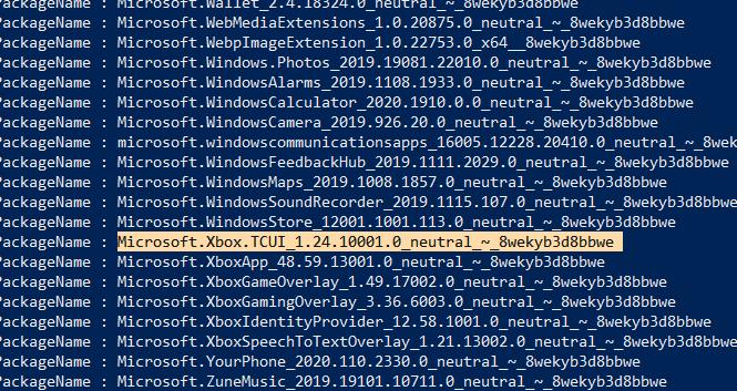 Bloatware entfernen Windows kopieren Paketname