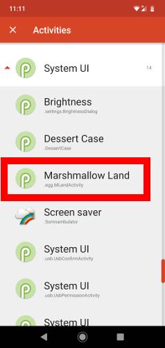 Hidden Secret Google Games Marshmallow Land Nova 2