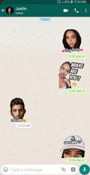 Beste WhatsApp Sticker Packs Wemoji