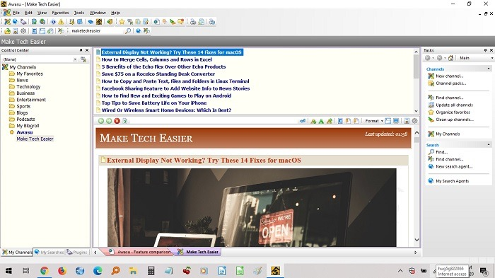 Best Rss Reader For Windows Awasu