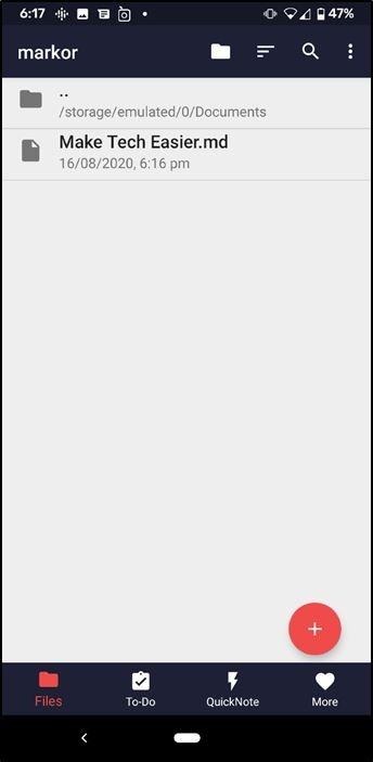 Markdown Text Editor Markor1