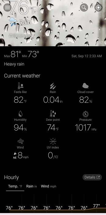 Top Dark Sky Alternatives For Android Weawow